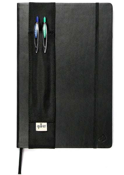 Double Pen/Stylus Quiver for Tablet and Extra-Large Notebooks - Indie Carry  - 16