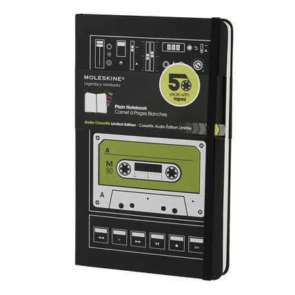 Moleskine Audio Cassette Limited Edition Notebook - Indie Carry  - 1