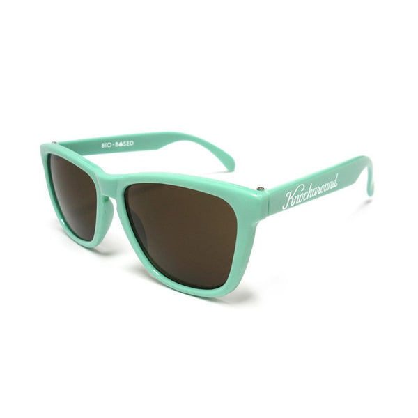Knockaround Bio-Based - Seafoam Green/ Amber - Indie Carry  - 1