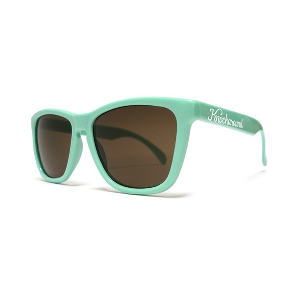 Knockaround Bio-Based - Seafoam Green/ Amber - Indie Carry  - 4