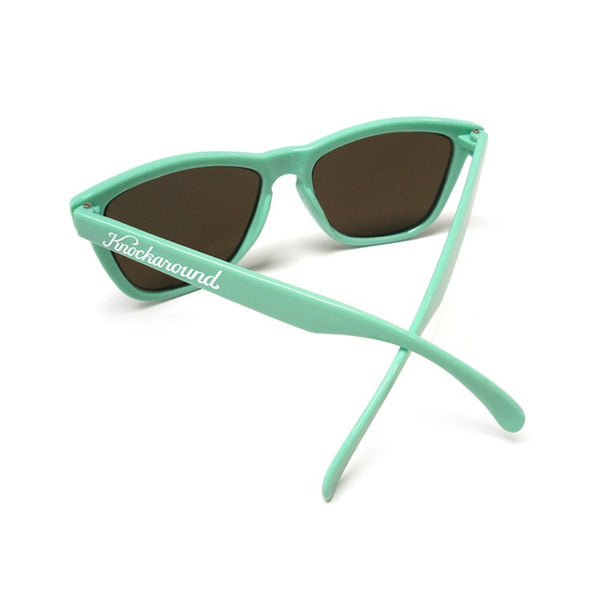 Knockaround Bio-Based - Seafoam Green/ Amber - Indie Carry  - 3