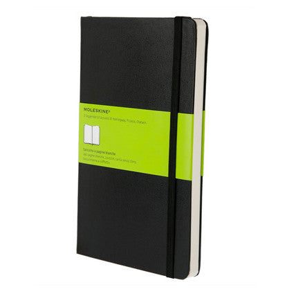 Moleskine Classic Large Notebook - Plain - Indie Carry  - 1
