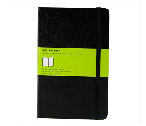 Moleskine Classic Large Notebook - Plain - Indie Carry  - 2