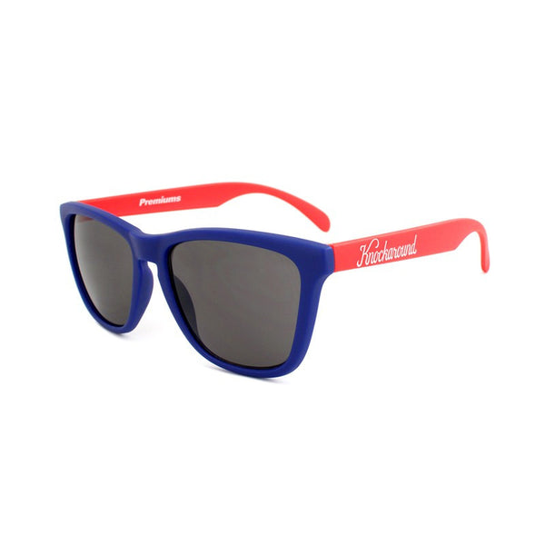 Knockaround Collegiate - Blue and Red / Smoke - Indie Carry  - 1