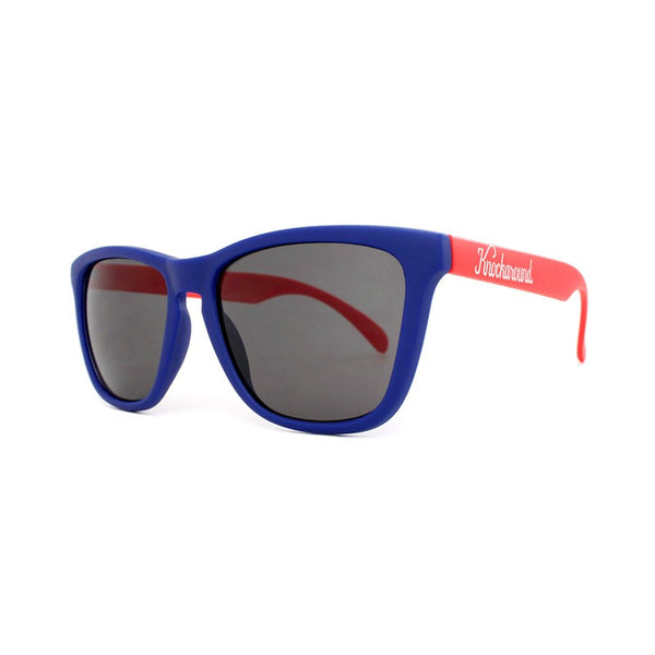 Knockaround Collegiate - Blue and Red / Smoke - Indie Carry  - 2