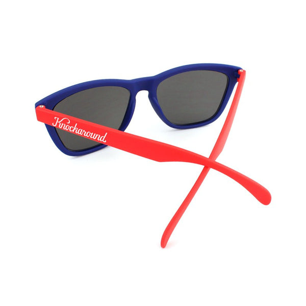 Knockaround Collegiate - Blue and Red / Smoke - Indie Carry  - 4