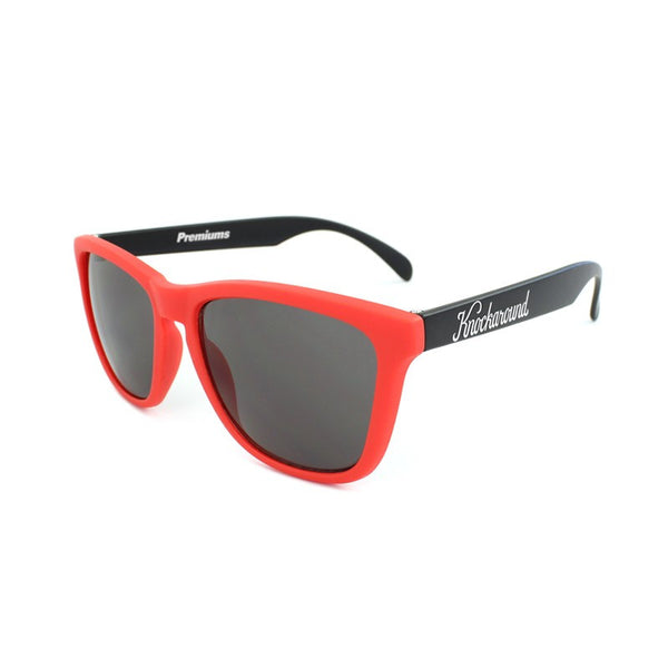 Knockaround Collegiate - Red and Black/Smoke - Indie Carry  - 1