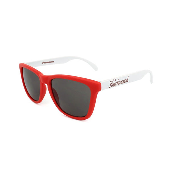 Knockaround Collegiate - Red and White / Smoke - Indie Carry  - 1