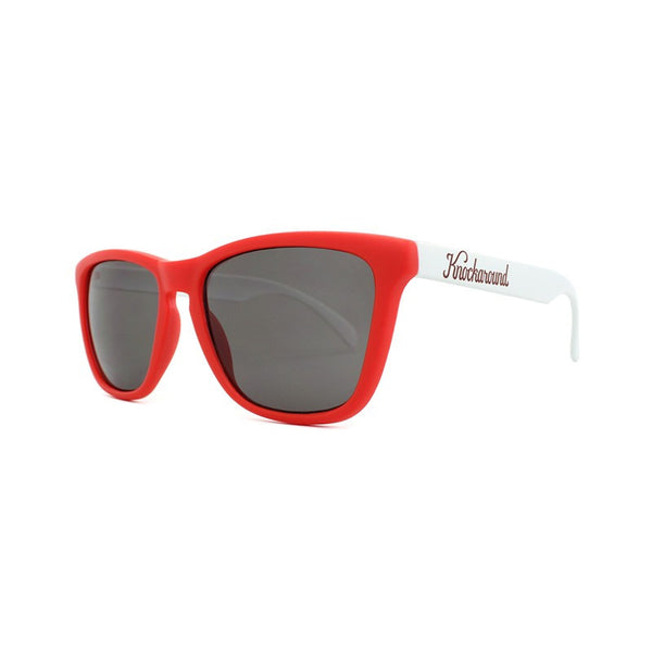 Knockaround Collegiate - Red and White / Smoke - Indie Carry  - 3