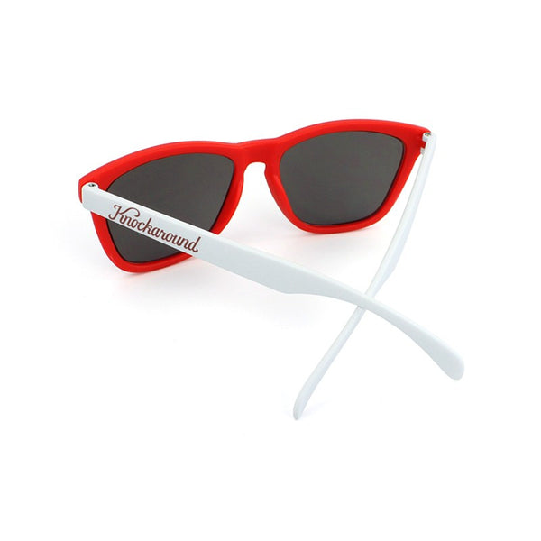 Knockaround Collegiate - Red and White / Smoke - Indie Carry  - 2