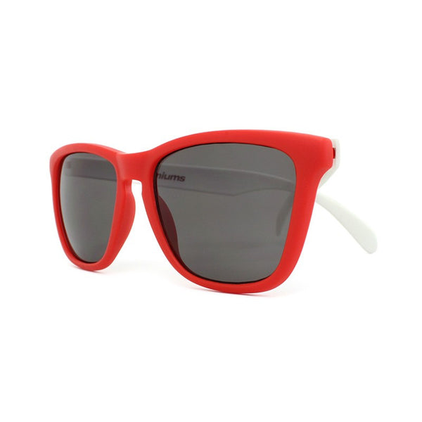 Knockaround Collegiate - Red and White / Smoke - Indie Carry  - 4