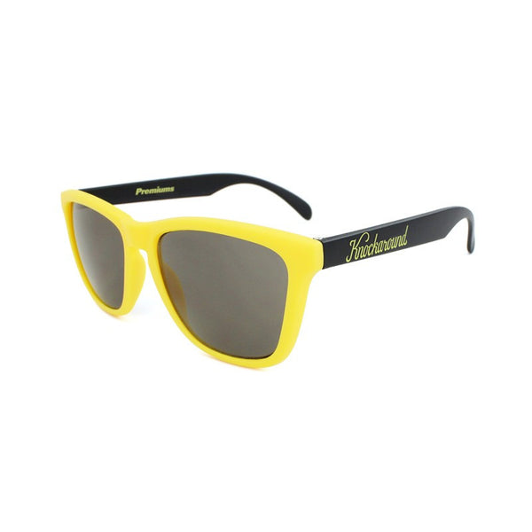 Knockaround Collegiate - Yellow and Black / Smoke - Indie Carry  - 1