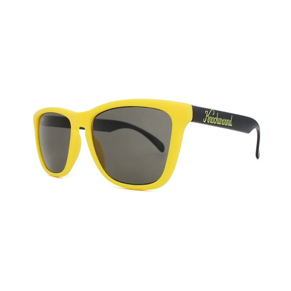 Knockaround Collegiate - Yellow and Black / Smoke - Indie Carry  - 4