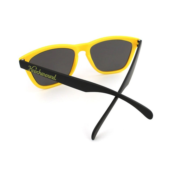 Knockaround Collegiate - Yellow and Black / Smoke - Indie Carry  - 2
