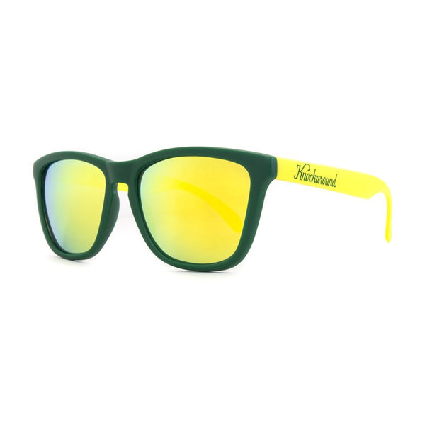 Knockaround Collegiate - Green and Yellow / Yellow Premium - Indie Carry  - 1