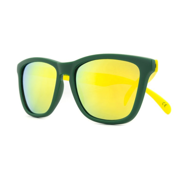 Knockaround Collegiate - Green and Yellow / Yellow Premium - Indie Carry  - 2