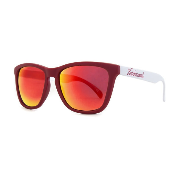 Knockaround Collegiate - Red and White / Red Sunset Premium - Indie Carry  - 1