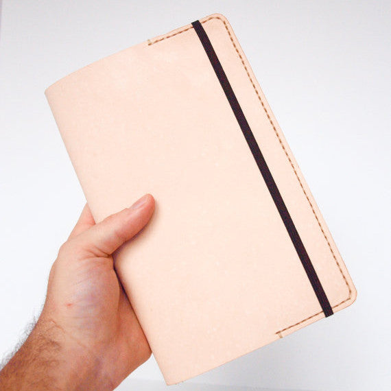 Moleskine Leather Journal Cover - Indie Carry  - 1