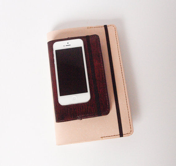 Moleskine Leather Journal Cover - Indie Carry  - 2