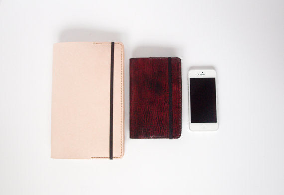 Moleskine Leather Journal Cover - Indie Carry  - 3