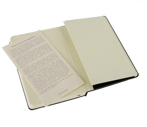 Moleskine Classic Large Notebook - Ruled - Indie Carry  - 4