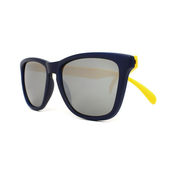 Knockaround Collegiate - Navy Blue and Yellow / Smoke - Indie Carry  - 2