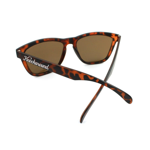 Knockaround Premiums - Matte Tortoise Shell/ Amber - Indie Carry  - 4