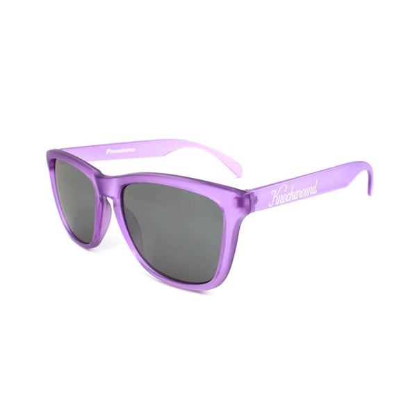 Knockaround Premiums - Frosted Lavender/ Smoke - Indie Carry  - 1