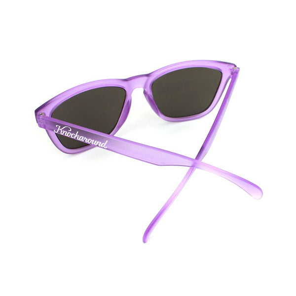 Knockaround Premiums - Frosted Lavender/ Smoke - Indie Carry  - 3