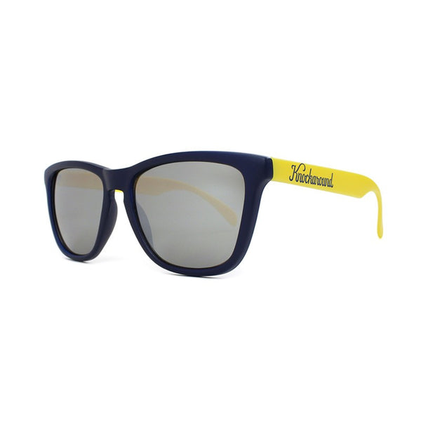 Knockaround Collegiate - Navy Blue and Yellow / Smoke - Indie Carry  - 4