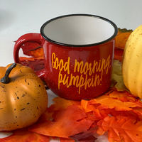 Good morning, Pumpkin Mug