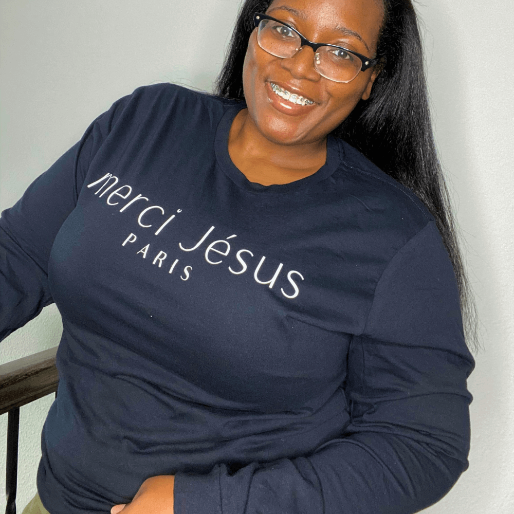 Merci Jesus Long Sleeve Tee