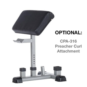 TuffStuff Preacher Curl Attachment for CMB-375