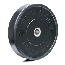 Load image into Gallery viewer, American Barbell Black Sport Bumper Plates