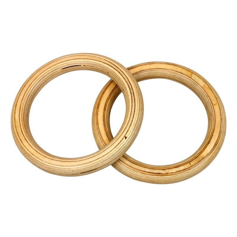 American Barbell Wooden Rings (no straps)