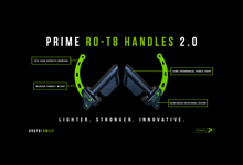 Load image into Gallery viewer, Prime RO-T8 Handles (pair)