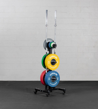 Load image into Gallery viewer, Titan Bumper Plate Tree w/ Wheels