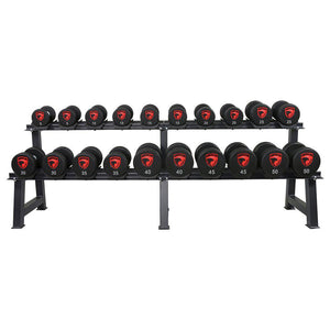 American Barbell 10 Pair Econo Dumbbell Rack