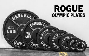 Rogue Olympic Plates - Cast Iron