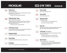 Load image into Gallery viewer, Rogue Echo Gym Timer
