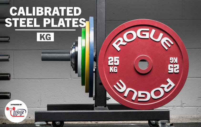Rogue Calibrated KG Steel Plate Set