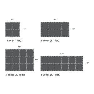 Flooring Tile 4 Pack