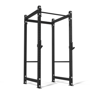"American Barbell 48"" Single Rack w/ Safety Straps"