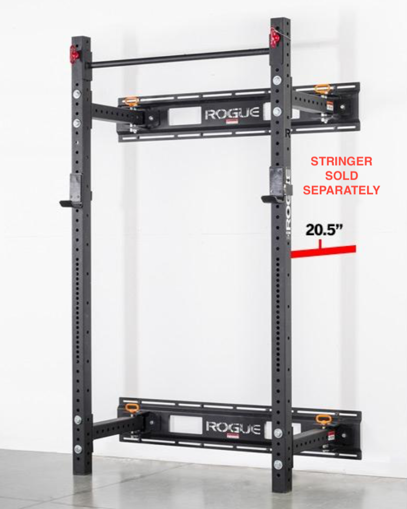 Rogue RML-3W Fold Back Wall Mount Rack 21.5