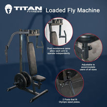 Load image into Gallery viewer, Titan Plate Loaded Fly Machine