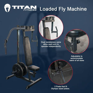 Titan Plate Loaded Fly Machine