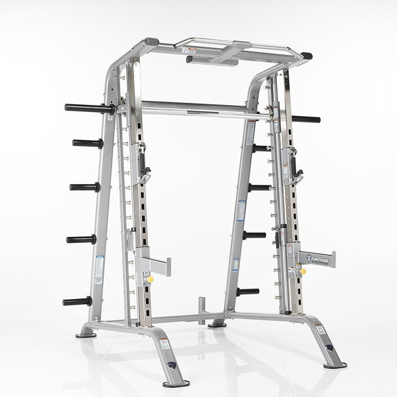 TuffStuff Smith Machine/Half Cage Combo w/ Safety Stoppers