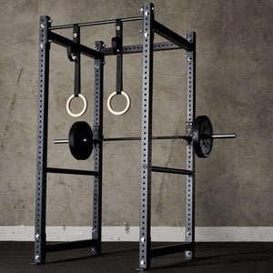 American Barbell Single Rack w/ Safety Straps