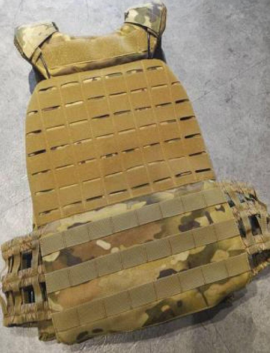 Laser Cut Tactical Plate Carrier Vest