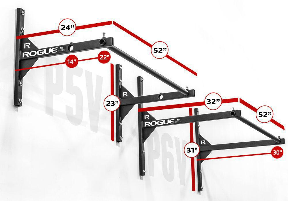 Rogue P-5V Garage Pull Up System